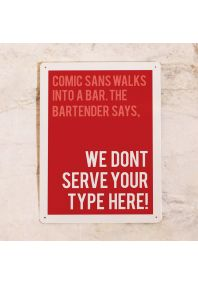 Comic Sans Bar