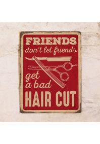 Друзья не дадут плохо подстричься