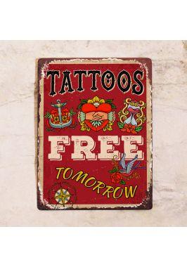 Free tattoos tomorrow