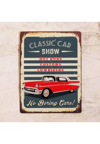 Табличка Car show