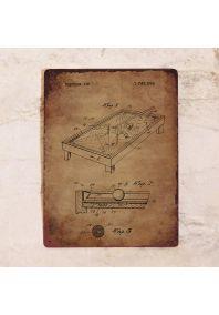 Патент бильярдного стола