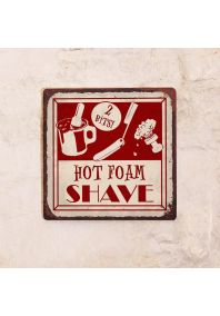 Hot Foam Shave