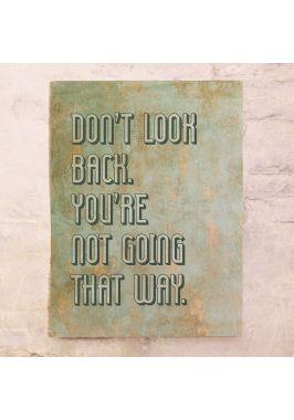 Не смотри назад
