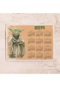 Календарь с магнитным курсором  Yoda