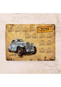 Металлический календарь на 2019 г.  Walter Junior Retro Car