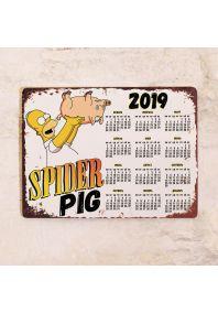 Календарь SpiderPig