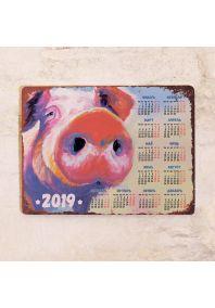 Календарь 2019 Свинка