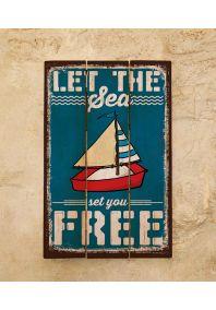 Деревянная табличка Free
