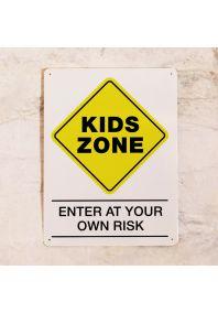 Табличка на дверь KIDS ZONE