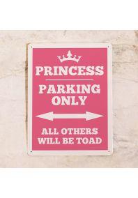 Табличка Princess parking only