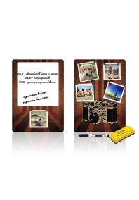Магнитно-маркерные доски Ретро фото