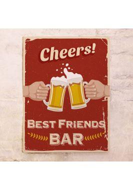 Табличка для бара Cheers