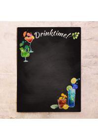 Грифельная доска Drinktime