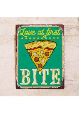 Табличка Love Pizza
