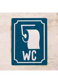 Знак WC