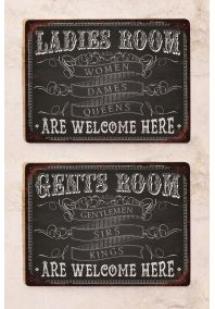 Набор Ladies & Gents Room