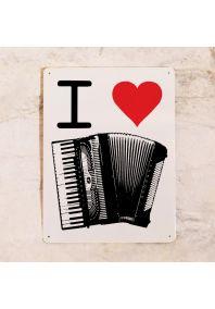 I love accordion