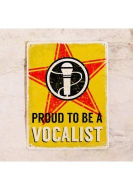Proud to be a vocalist