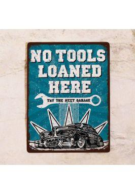 Табличка No tools