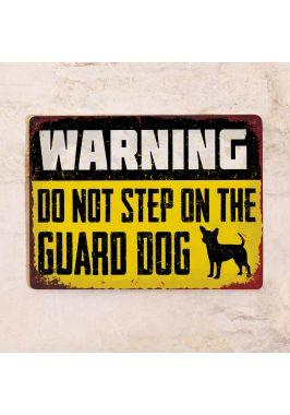 Табличка Guard dog