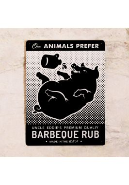 Табличка Ребрышки BBQ