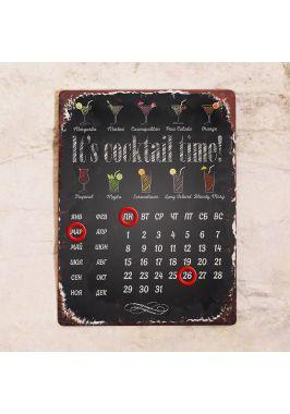 Вечный календарь It's cocktail time!