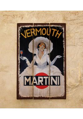 Деревянное панно Martini
