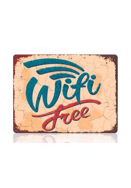 Табличка Wifi в стиле ретро