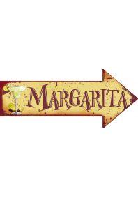 Металлический указатель  Margarita