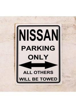 Парковочная табличка Nissan