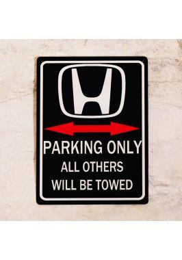 Парковочная табличка HONDA