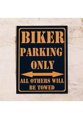 Парковочная табличка для мотоциклов