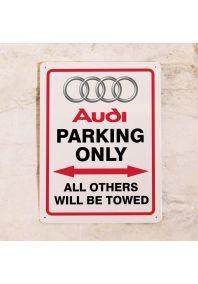 Парковочная табличка Audi