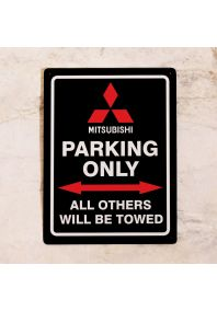 Парковочная табличка MItsubishi