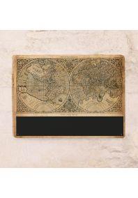 """Грифельная доска """"Карта мира"""" для записей"""