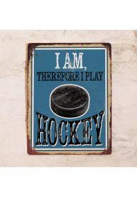 I am therefore i play hockey