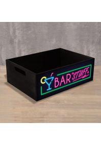 Деревянный ящик Bar Stuff