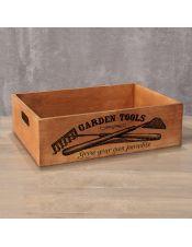 Деревянный ящик Garden Tools