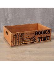 Деревянный ящик Books