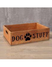 Деревянный ящик Dog Stuff