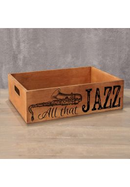 Деревянный ящик Jazz
