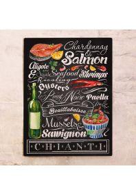 Вино и морепродукты