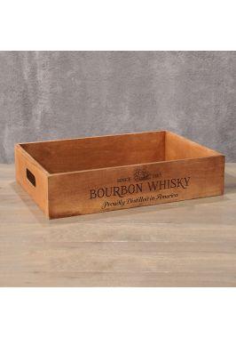 Деревянный ящик Bourbon Wisky