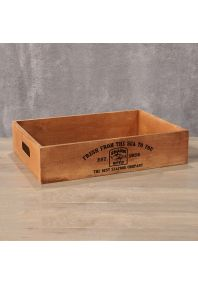 Деревянный ящик Irish