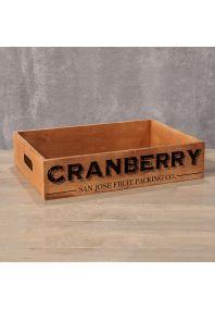 Деревянный ящик Cranberry