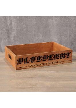 Деревянный ящик Blueberry