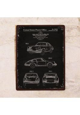 Жестяная табличка Automobile