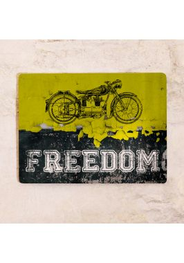 Жестяная табличка Freedom
