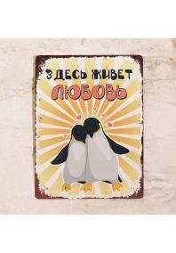 Здесь живет любовь - Пингвины