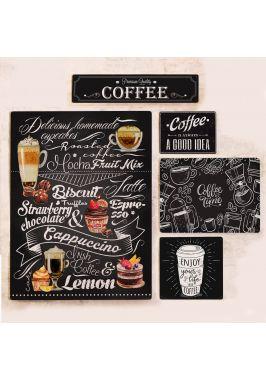 Набор табличек для оформления кофейни